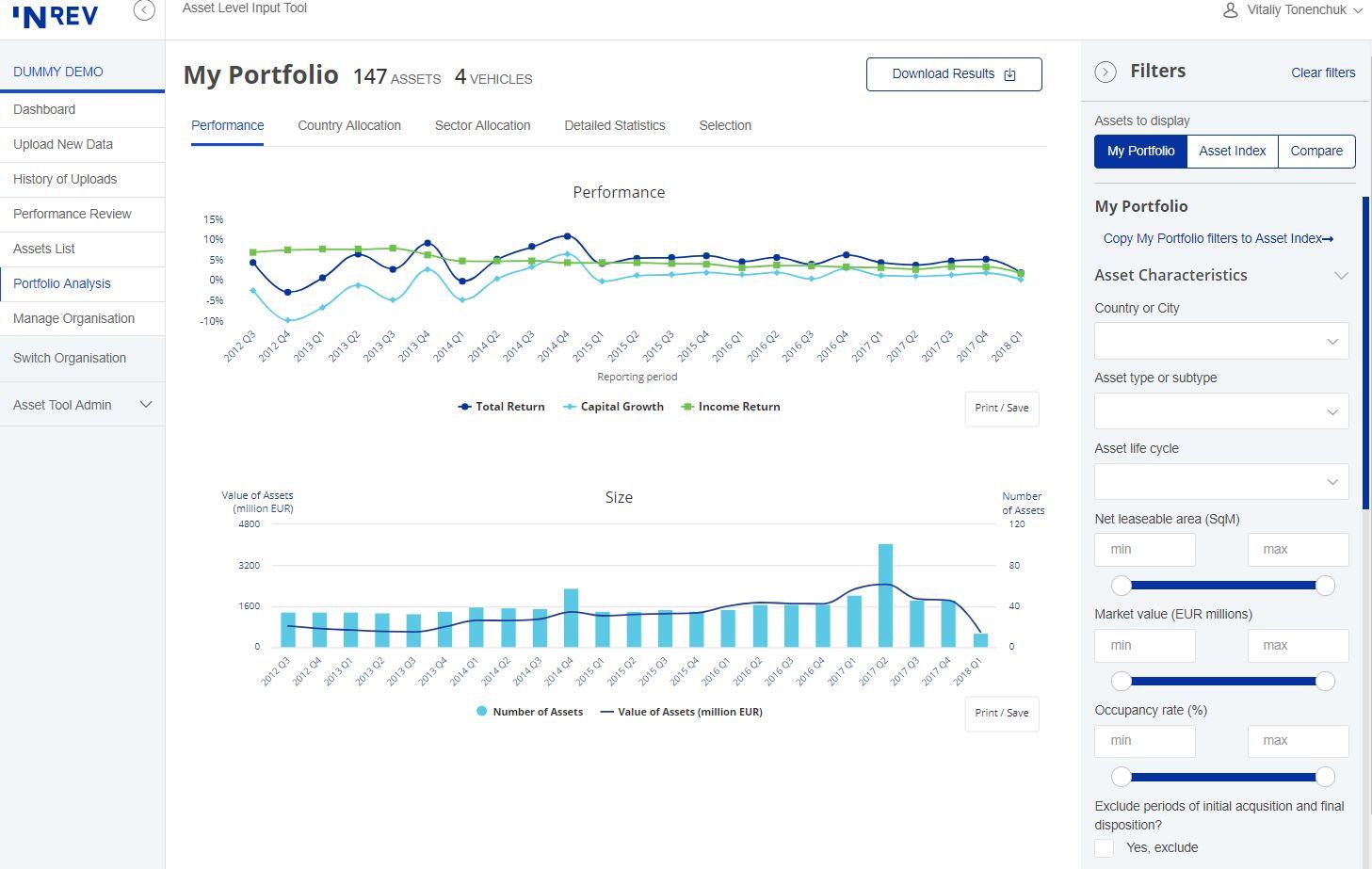 Asset Level Index | INREV