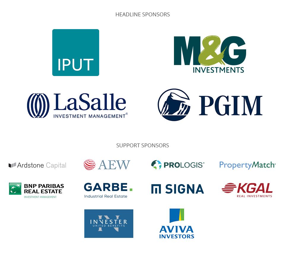 INREV Annual Conference Dublin 2018 Sponsors