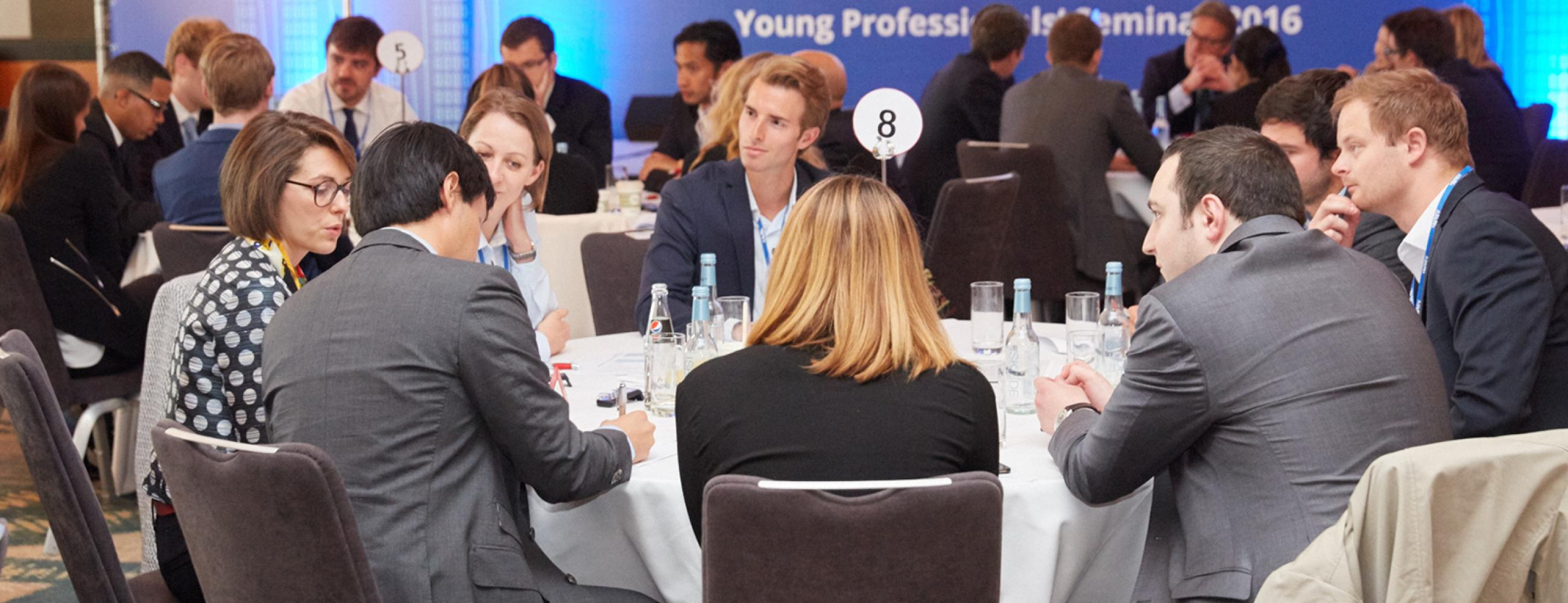 Workshop and case - Young Professionals Seminar 2016